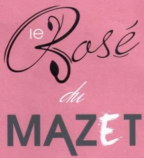 Etiquette Rosé du Mazet