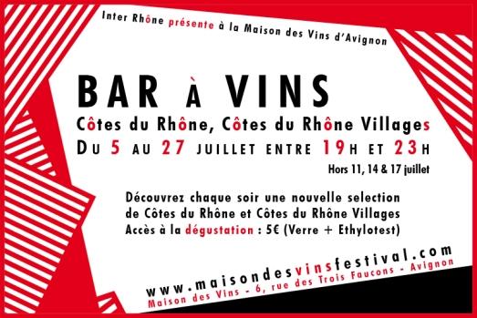 Bar à vins du festival