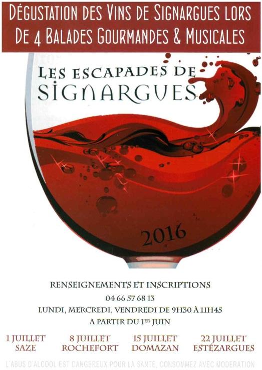 Flyer Signargues 2016