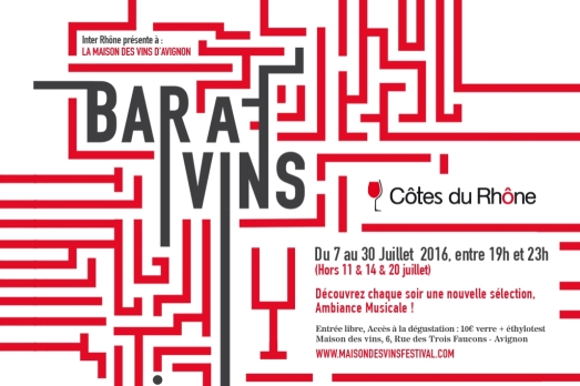 Flyer bar à vins